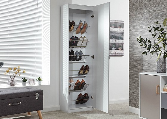Mirrored Shoe Cabinet-image-07 />