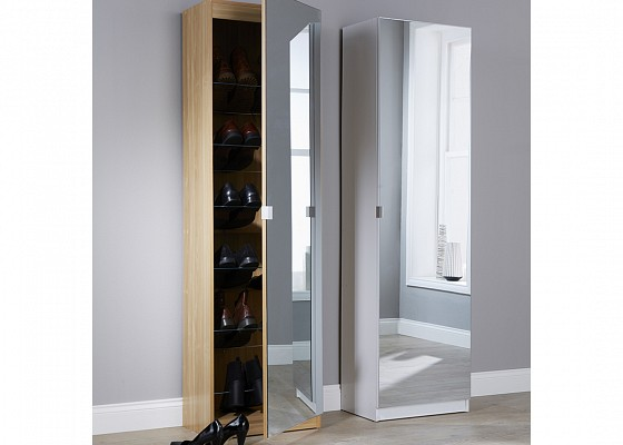 Mirrored Shoe Cabinet-image-05 />