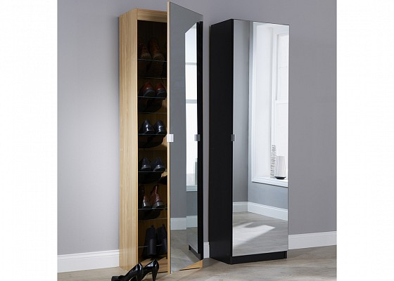 Mirrored Shoe Cabinet-image-04 />