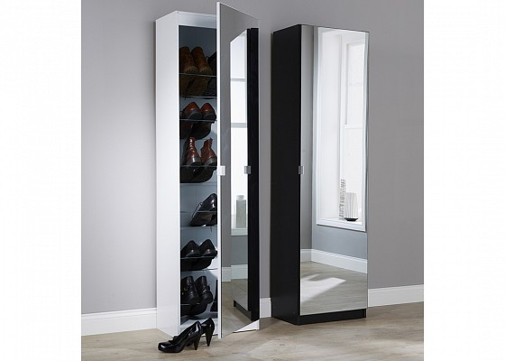 Mirrored Shoe Cabinet-image-03 />