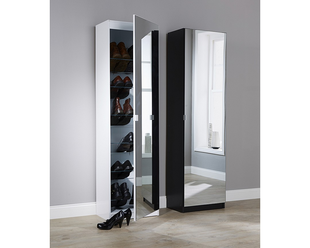 Mirrored Shoe Cabinet-image-03