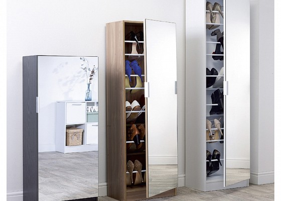 Mirrored Shoe Cabinet-image-01 />