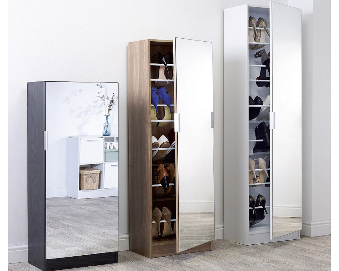 Mirrored Shoe Cabinet-image-01