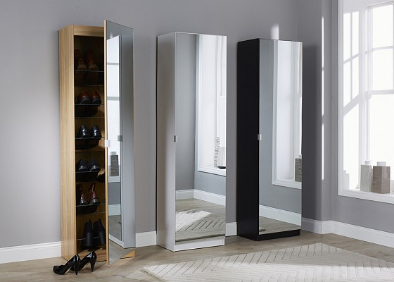 Mirrored Shoe Cabinet-image-02 />