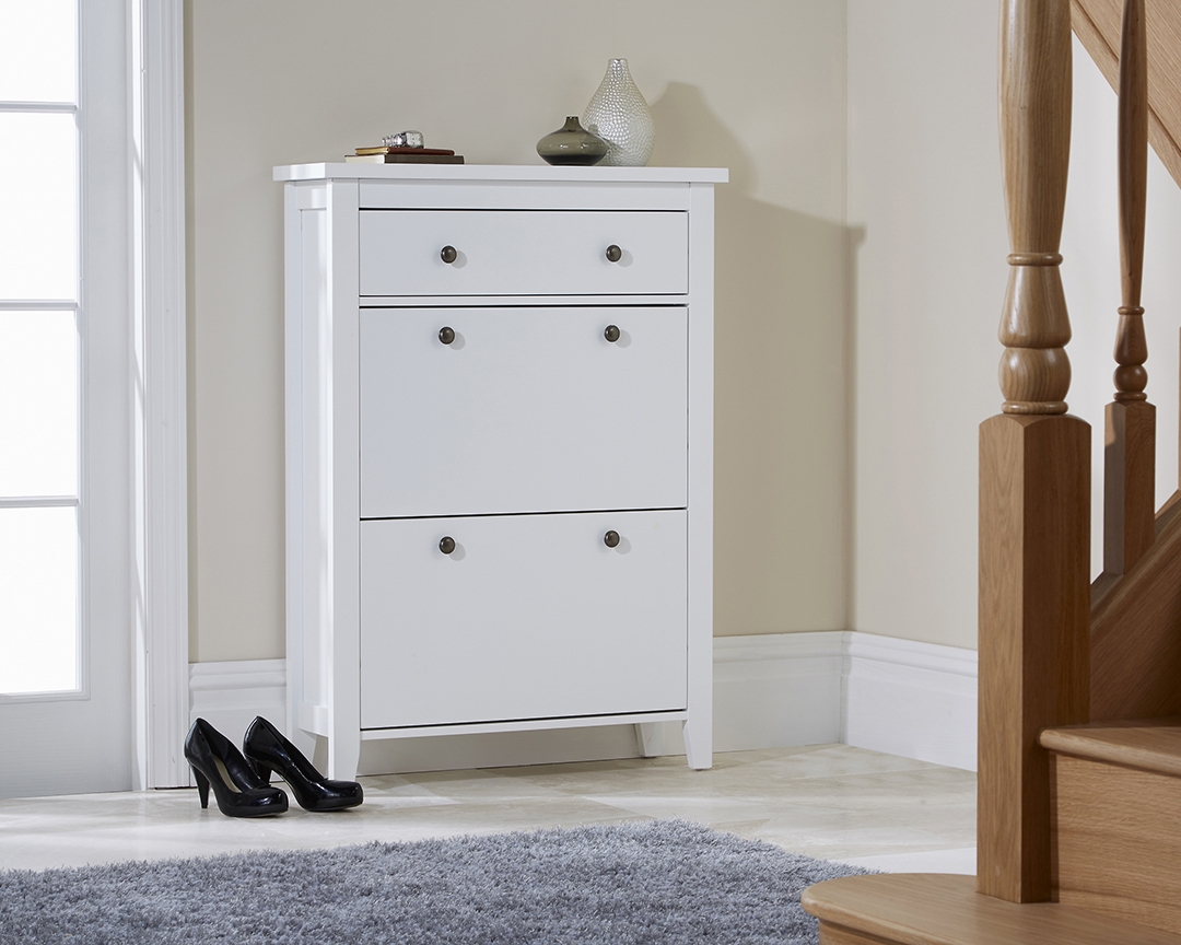 Two Tier Shoe Cabinet